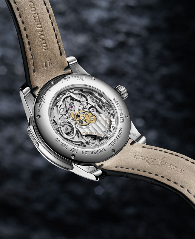 Ulysse Nardin Minute Repeater Hannibal Watch Back