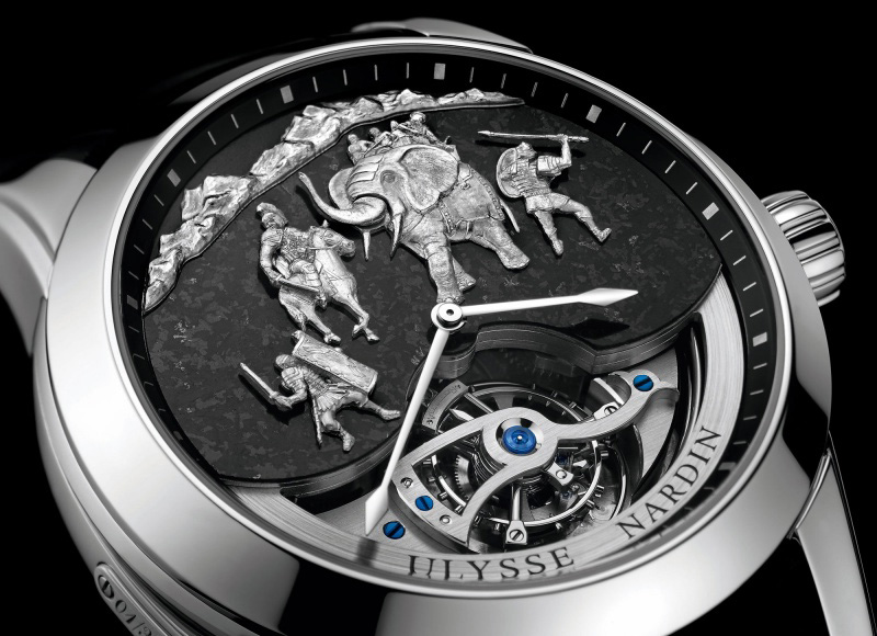 Ulysse Nardin Minute Repeater Hannibal Watch Dial
