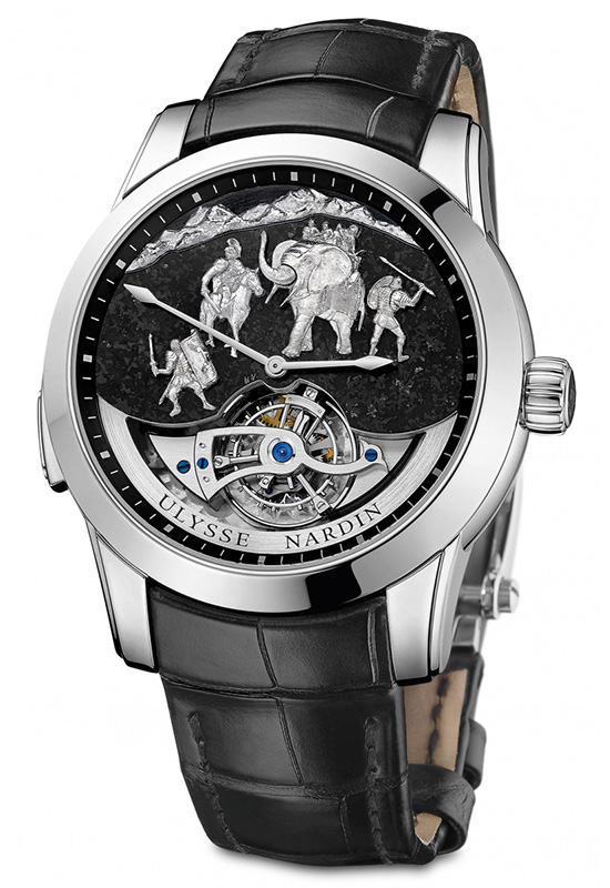 Ulysse Nardin Minute Repeater Hannibal Watch Front