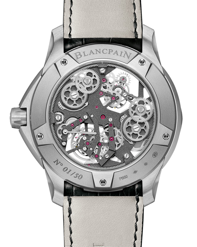 Blancpain L-evolution Tourbillon Carrousel Watch Back