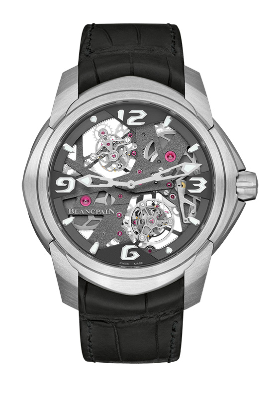 Blancpain L-evolution Tourbillon Carrousel Watch Front