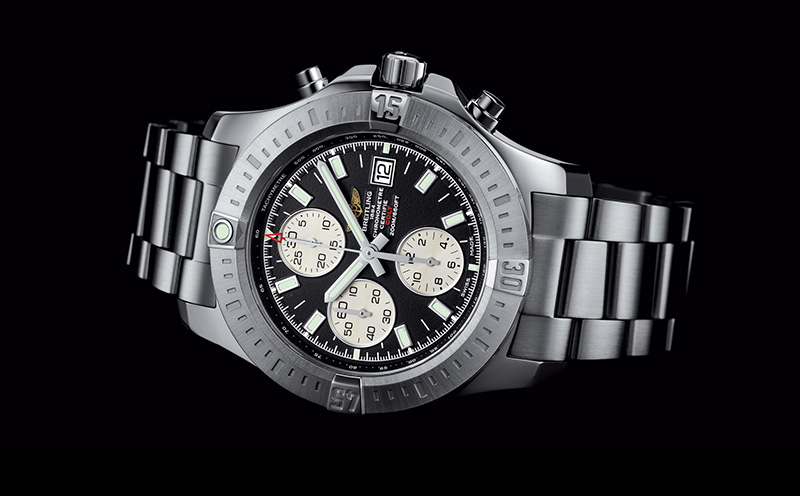 Breitling Colt Chronograph Automatic Watch Front