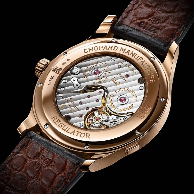 Chopard L.U.C Regulator Watch Back