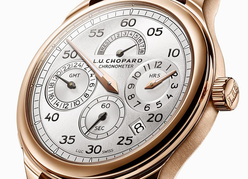 Chopard L.U.C Regulator Watch Dial