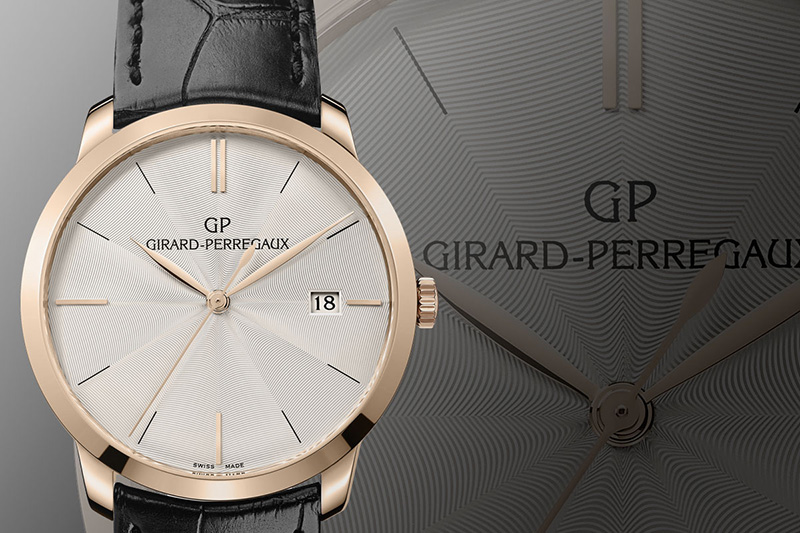 Girard-Perregaux 1966 Guilloché Dial Watch
