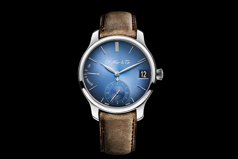 H. Moser & Cie Endeavour Perpetual Calendar Funky Blue Watch