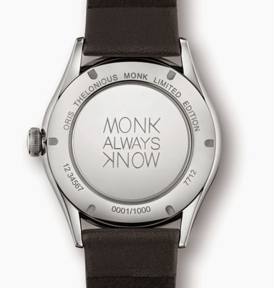 Oris Thelonious Monk Limited Edition Watch Case Back
