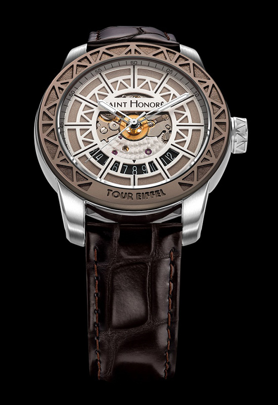 Saint Honore Tour Eiffel Limited Edition Watch Front