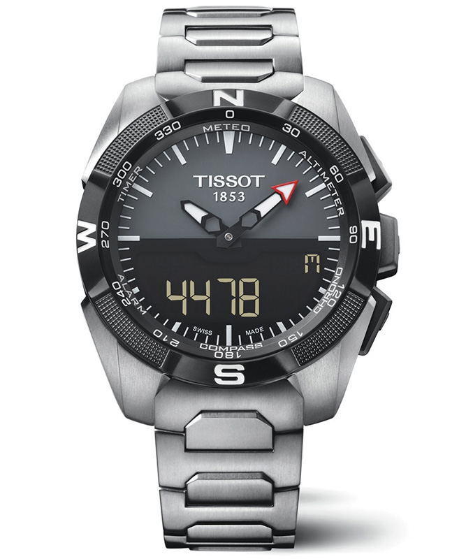 Tissot T-Touch Expert Solar 45mm Watch Front