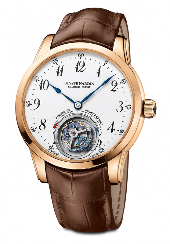 Ulysse Nardin Anchor Tourbillon Watch 1786-133