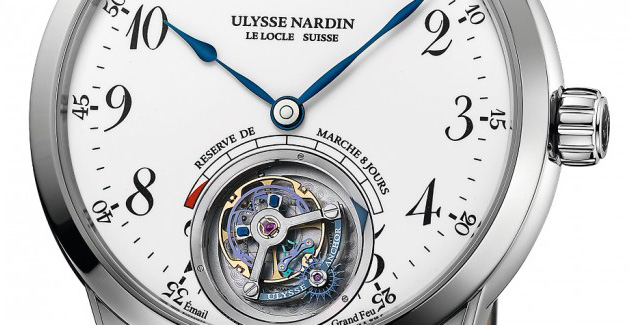 Ulysse Nardin Anchor Tourbillon Watch Dial
