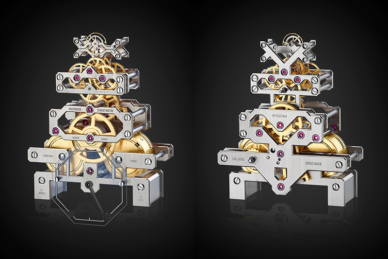 Vacheron Constantin Metiers d'Art Arca Clock Movement