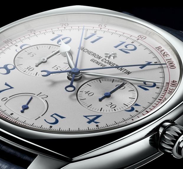 Vacheron Constantin Ultra-Thin Grande Complication Chronograph Watch Dial
