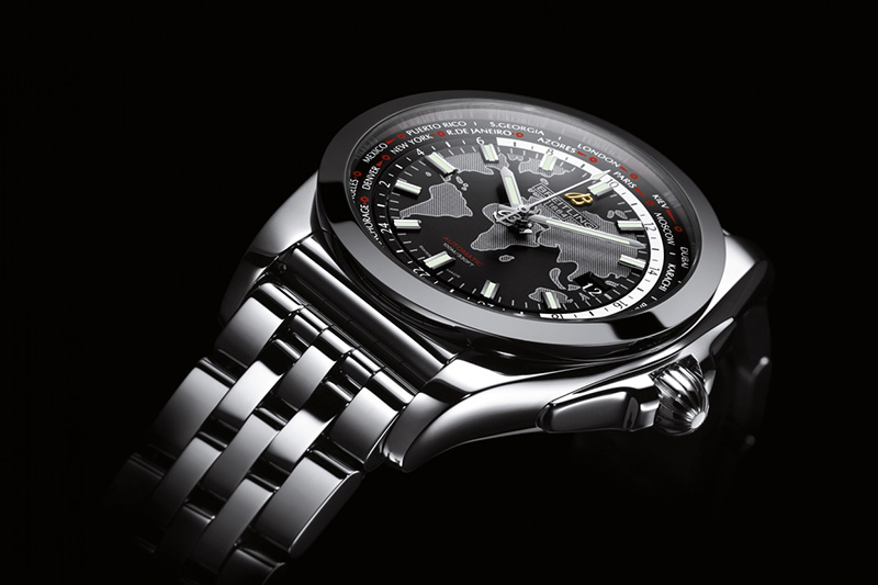 Breitling Galactic Unitime SleekT Watch Profile