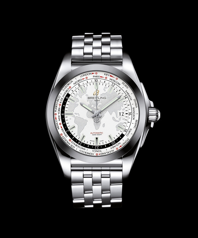 Breitling Galactic Unitime SleekT Watch Front