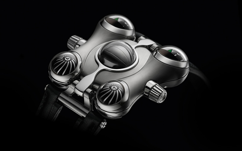 MB & F HM6 Watch Front