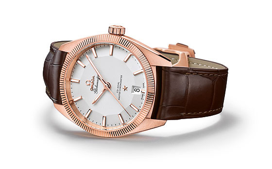 Omega Globemaster Sedna Gold Watch