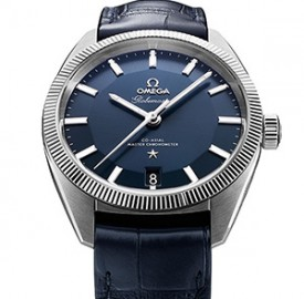 Baselworld 2015: Omega Introduces Globemaster, the First Watch with Master Chronograph Movement