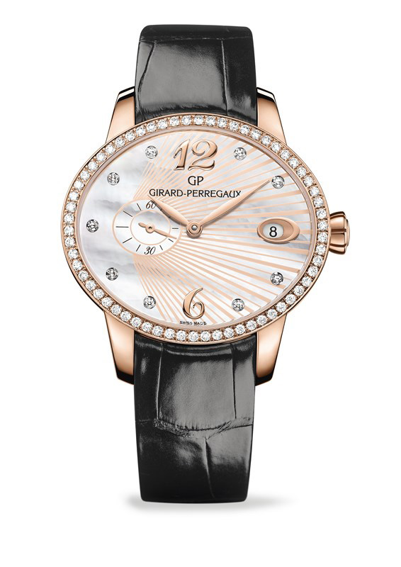 Girard-Perregaux Cat's Eye Small Second Watch 80484D52A763-BK6B