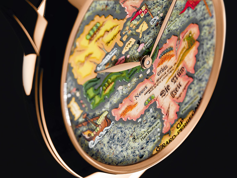 "Girard-Perregaux  The New World ""Novus Orbis"" Watch Dial"