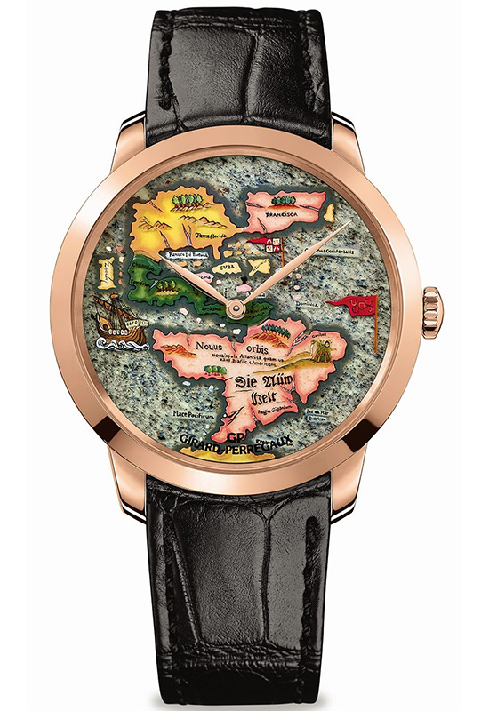 "Girard-Perregaux  The New World ""Novus Orbis"" Watch Front"