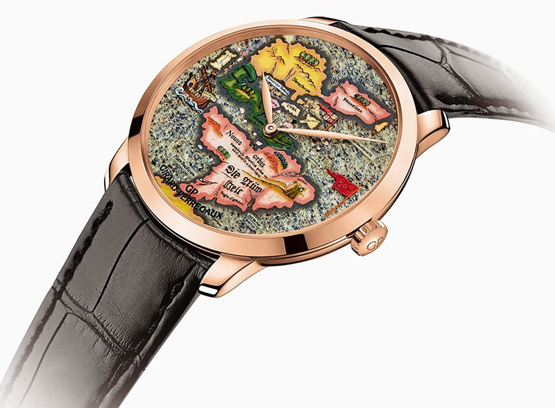 "Girard-Perregaux  The New World ""Novus Orbis"" Watch"