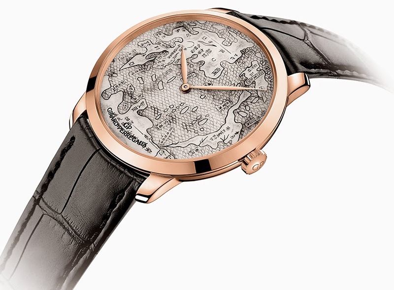 Girard-Perregaux The Terrestrial Map Watch Profile