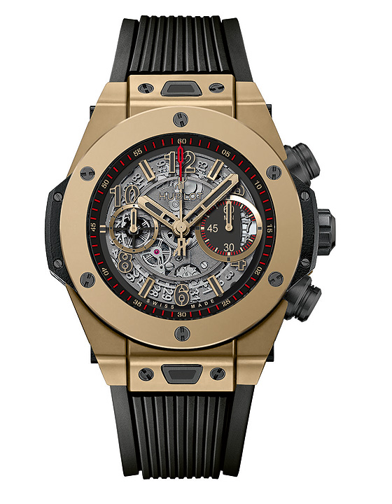 Hublot Big Bang Full Magic Gold Watch