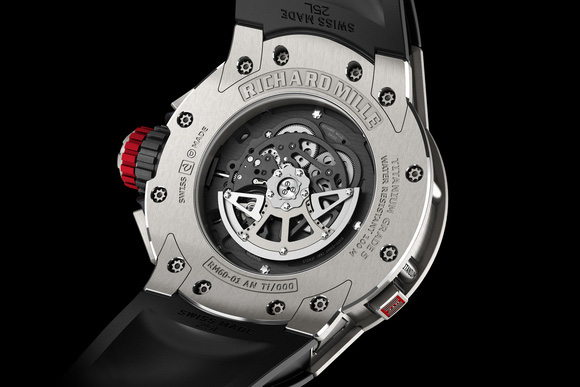 Richard Mille RM 60-01 Automatic Flyback Chronograph Regatta Watch Back