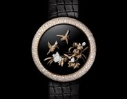 Chanel Mademoiselle Privé Coromandel Flying Birds Watch