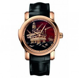 Ulysse Nardin North Sea Minute  Repeater Red Gold Watch